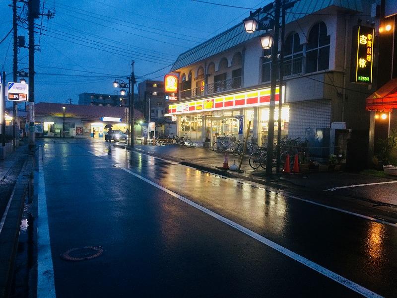 豊四季駅(東武野田線)前のコンビ二
